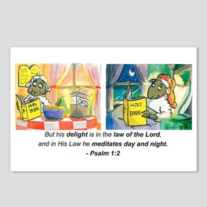 Psalm 1:2 Postcards (Package of 8)