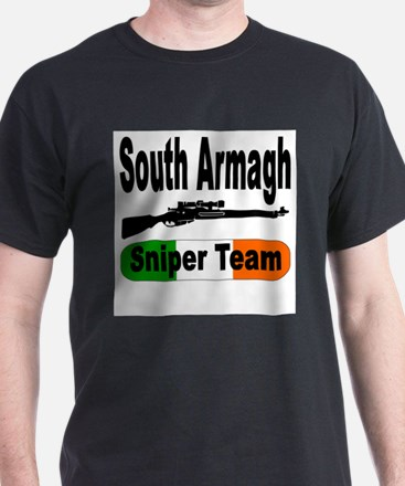 South Armagh Sniper Team with White T-Shirt