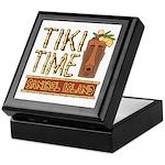 Tiki Time on Sanibel - Keepsake Box
