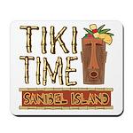 Tiki Time on Sanibel - Mousepad