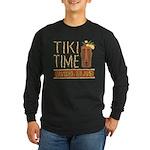 Tiki Time on Sanibel - Long Sleeve Dark T-Shirt