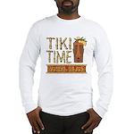 Tiki Time on Sanibel - Long Sleeve T-Shirt