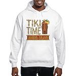 Tiki Time on Sanibel - Hooded Sweatshirt