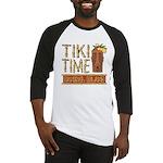 Tiki Time on Sanibel - Baseball Jersey
