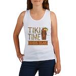 Tiki Time on Sanibel - Women's Tank Top