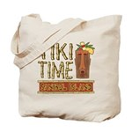 Tiki Time on Sanibel - Tote Bag