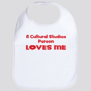 A Cultural Studies Person Loves Me Bib