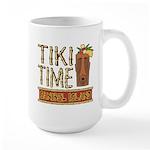 Tiki Time on Sanibel - Large Mug
