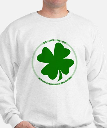 Lucky to be Loved (Guardsman) Sweatshirt