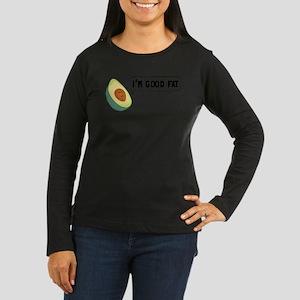 Avocado: Good Fat Long Sleeve T-Shirt