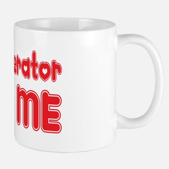 A Crane Operator Loves Me Mug
