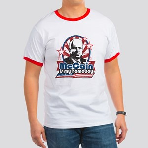 McCain is my Homeboy Ringer T