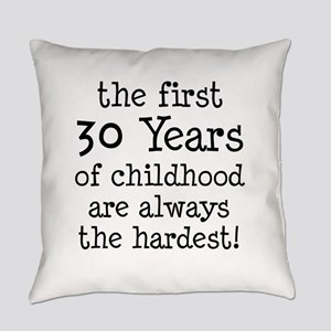 30 Years Childhood Everyday Pillow