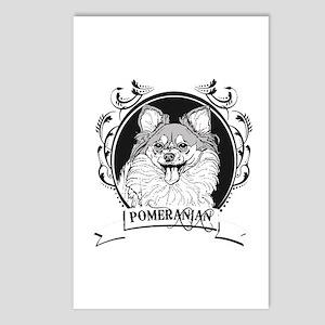 Pomeranian Postcards (Package of 8)