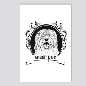 Sheep dog Postcards (Package of 8)