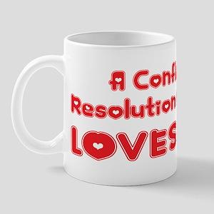 A Conflict Resolution Major Loves Me Mug