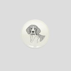Beagle Mini Button