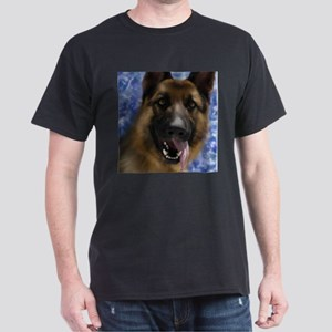 JoyfulGermanShepherd_Square T-Shirt