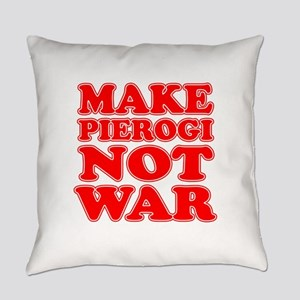 Make Pierogi Not War Apron Everyday Pillow