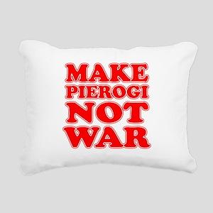 Make Pierogi Not War Apron Rectangular Canvas Pill