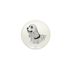 Cocker Spaniel Mini Button (100 pack)
