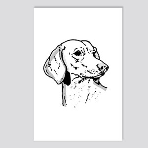 Dachsund Postcards (Package of 8)