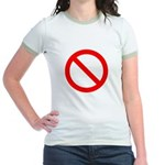 No Jr. Ringer T-Shirt