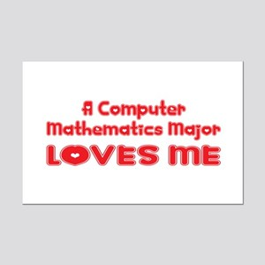 A Computer Mathematics Major Loves Me Mini Poster