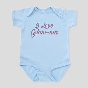 I Love Glam-ma Baby Light Bodysuit