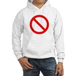 No Hooded Sweatshirt