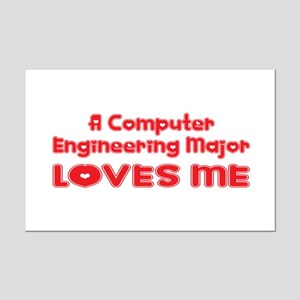 A Computer Engineering Major Loves Me Mini Poster