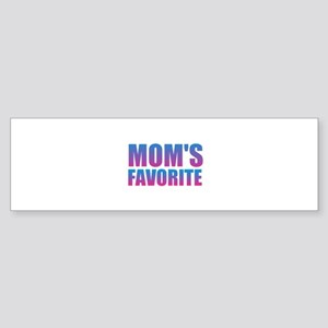 Dad's Favorite Bumper Sticker