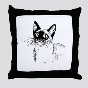 Siamese Throw Pillow