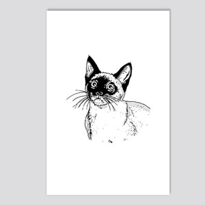 Siamese Postcards (Package of 8)