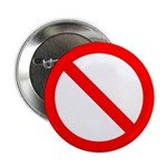 "No 2.25"" Button (10 pack)"