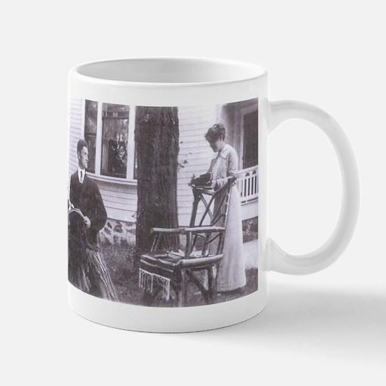 Barney and Blanche Mug