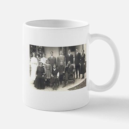 Lorang family, front porch Mug