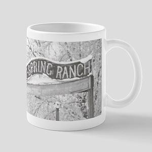 Farm sign Mug