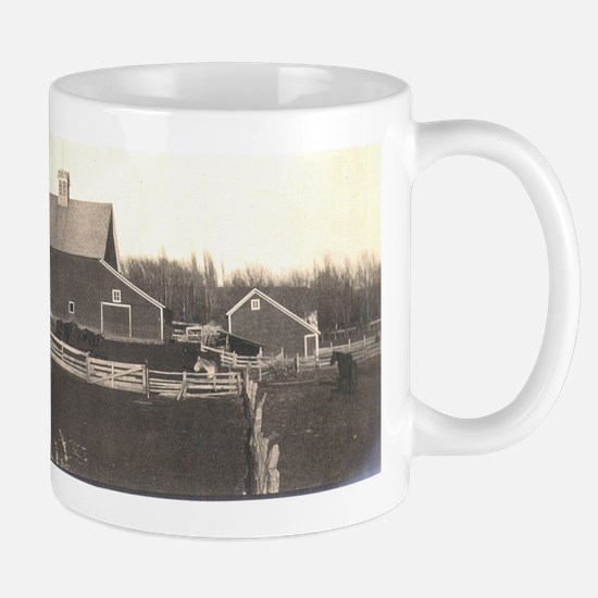 Barn, early photo Mug