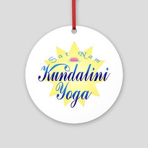 Kundalini Yoga Ornament (Round)