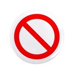 "No 3.5"" Button (100 pack)"