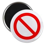 "No 2.25"" Magnet (10 pack)"