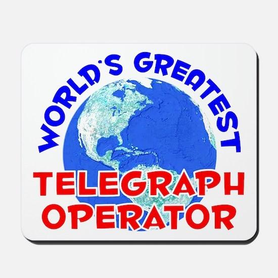 World's Greatest Teleg.. (E) Mousepad