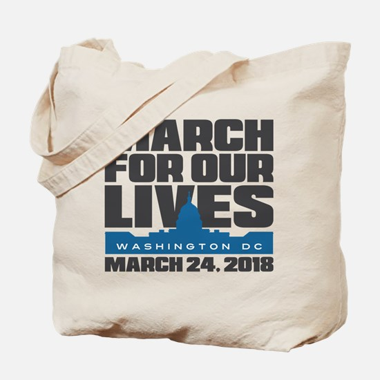 March For Our Lives Washington DC Tote Bag