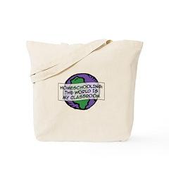 Homeschooling Globe Tote Bag