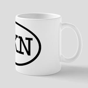 LKN Oval Mug