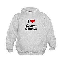 I Love Chow Chows Hoodie