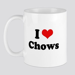 I Love Chows Mug