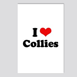 I Love Collies Postcards (Package of 8)