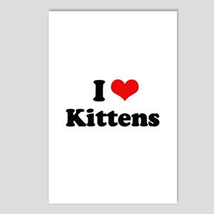 I Love Kittens Postcards (Package of 8)